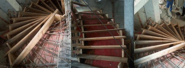 楼梯浇注混凝土和现浇隔层浇注混凝土区别相当大
